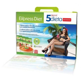 ZDRAVÁ VÝŽIVA - Good Nature Express Diet 5denní dieta proteinová 20 x 55g