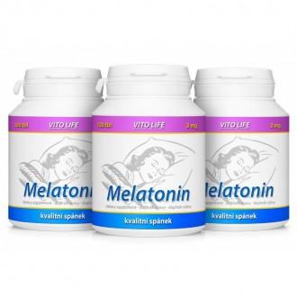 AKČNÍ BALÍČKY 2+1 - 2+1 Melatonin 300 tbl.