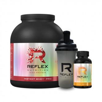 KOMPLETNÍ SORTIMENT - Reflex Protein Instant Whey PRO 2,2kg  + Zinc Matrix 100kapslí + Šejkr 700ml ZDARMA