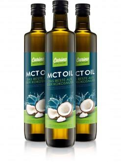 PŘÍRODNÍ DOPLŇKY NA: - 2+1 CARINO HEALTHCARE MCT olej 3x500 ML ( 100% KOKOSOVÉHO OLEJE)