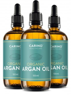 KOMPLETNÍ SORTIMENT - 2+1 CARINO HEALTHCARE  BIO Arganový olej z Maroka 3x100 ml