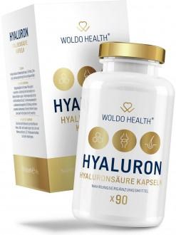 KOSMETIKA - WoldoHealth Kyselina hyaluronová s kolagenem 90 cps.