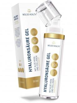 KOMPLETNÍ SORTIMENT - WoldoHealth Kyselina hyaluronová s kolagenem a aloe vera gel 50 ml