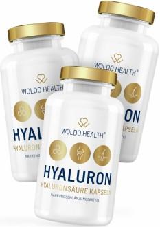 AKČNÍ BALÍČKY 2+1 - 2+1 WoldoHealth Kyselina hyaluronová s kolagenem 270 cps.