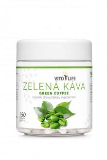 KOMPLETNÍ SORTIMENT - VITO LIFE - Zelená káva 150 tobolek