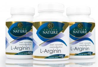 NEJPRODÁVANĚJŠÍ - 2+1 Golden Nature Arginin 300 cps.