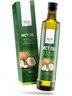 PŘÍRODNÍ DOPLŇKY NA: - Woldohealth MCT olej 500 ML ( 100% KOKOSOVÉHO OLEJE)
