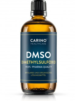 KOMPLETNÍ SORTIMENT - Carino Healthcare DMSO dimethylsulfoxid 99,9% 100ml