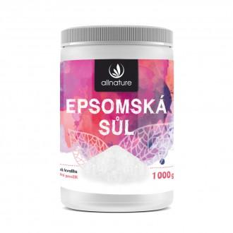 KOMPLETNÍ SORTIMENT - Allnature Epsomská sůl 1000 g