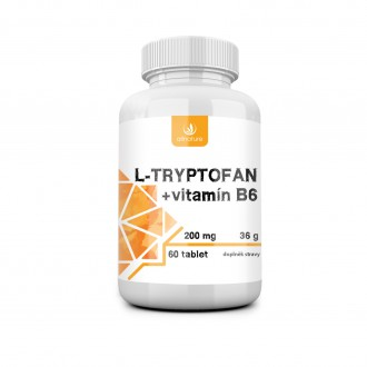 KOMPLETNÍ SORTIMENT - Allnature L-tryptofan 60tbl 200mg/2,5mg vit B6