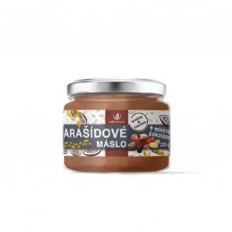 KOMPLETNÍ SORTIMENT - Allnature Arašídové máslo s mléčnou čokoládou 220 g