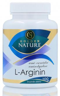 KOMPLETNÍ SORTIMENT - Golden Nature Arginin 100 cps.
