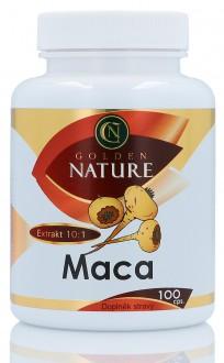 KOMPLETNÍ SORTIMENT - Golden Nature Maca 100 cps.