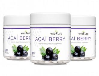AKČNÍ BALÍČKY 2+1 - 2+1 Vito Life Acai berry 300 cps