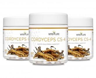 AKČNÍ BALÍČKY 2+1 - 2+1 Vito Life Cordyceps CS-4 300 cps.