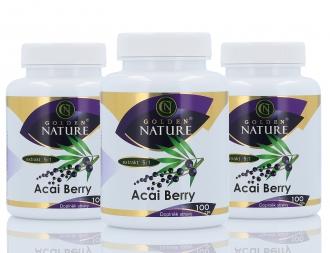 AKČNÍ BALÍČKY 2+1 - 2+1 Golden Nature Acai berry 300 cps.