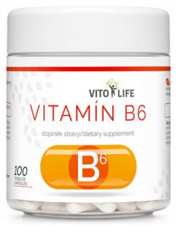 KOMPLETNÍ SORTIMENT - VITO LIFE - Vitamín B6 100 cps