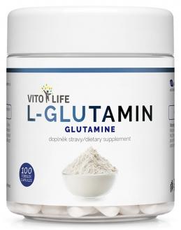 KOMPLETNÍ SORTIMENT - VITO LIFE - L-Glutamin 100 cps
