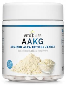 KOMPLETNÍ SORTIMENT - VITO LIFE - AAKG (Arginin-alfa-ketoglutarát) 100 cps