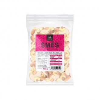 KOMPLETNÍ SORTIMENT - Allnature směs ořechů, mandle, lískače, kešu, para 100 g