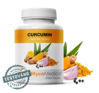 KOMPLETNÍ SORTIMENT - MycoMedica Curcumin 120 kapslí