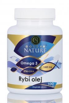 KOMPLETNÍ SORTIMENT - Golden Nature Rybí olej (Omega 3) 100 cps