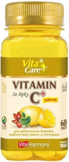 DOPLŇKY STRAVY NA: - Vitamín C - komplex formula 500mg - 60 tbl.