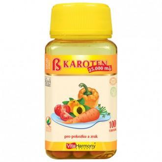 KOMPLETNÍ SORTIMENT - Betakaroten 25.000 m.j. (15 mg) - 100 tob.