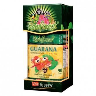 KOMPLETNÍ SORTIMENT - RainForest® Guarana 800 mg - 90 tbl.
