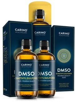 AKČNÍ BALÍČKY 2+1 - 2+1 Carino Healthcare DMSO dimethylsulfoxid 99,9% 300ml