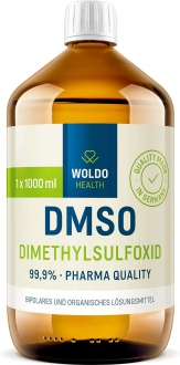 KOMPLETNÍ SORTIMENT - WoldoHealth DMSO dimethylsulfoxid 99,9% 1000 ml