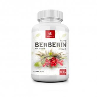 KOMPLETNÍ SORTIMENT - Allnature Berberin extrakt 98% 500 mg 60 cps.