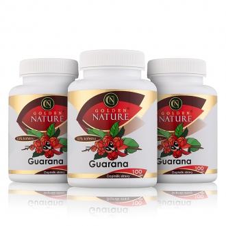 AKČNÍ BALÍČKY 2+1 - 2+1 Golden Nature Guarana 10% kofeinu 300 cps.