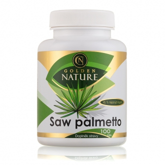KOMPLETNÍ SORTIMENT - Golden Nature Saw Palmetto 45% mastných kyselin 100 cps.