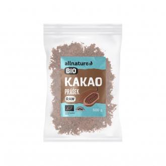 KOMPLETNÍ SORTIMENT - Allnature Kakaový prášek BIO RAW 500 g