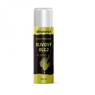 KOMPLETNÍ SORTIMENT - Allnature Olivový olej ve spreji 250 ml
