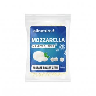 KOMPLETNÍ SORTIMENT - Allnature Mozzarella sušená mrazem 20 g