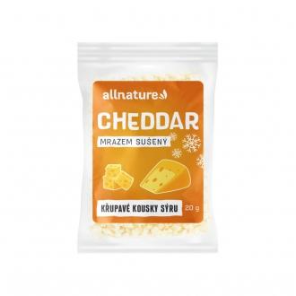 KOMPLETNÍ SORTIMENT - Allnature Cheddar sušený mrazem 20 g