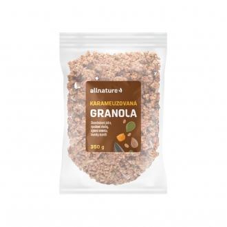 KOMPLETNÍ SORTIMENT - Allnature Karamelizovaná Granola 350 g