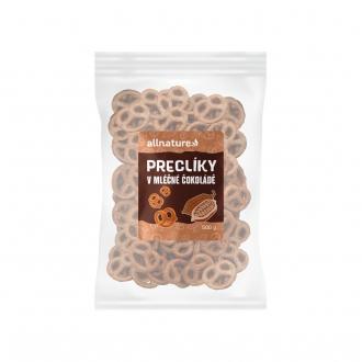 KOMPLETNÍ SORTIMENT - Allnature Preclíky v mléčné čokoládě 500 g