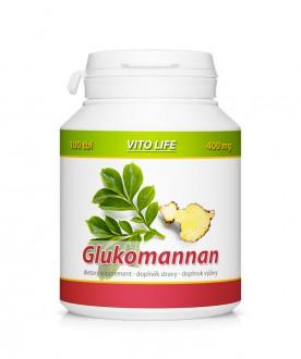 KOMPLETNÍ SORTIMENT - VITO LIFE - Glukomannan 100 tbl.