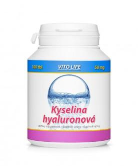 KOMPLETNÍ SORTIMENT - VITO LIFE - Kyselina Hyaluronová 100 tbl