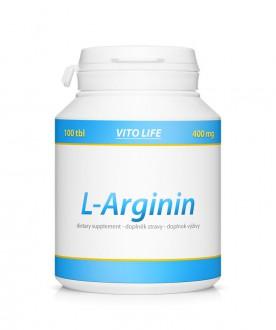 PŘÍRODNÍ DOPLŇKY NA: - VITO LIFE - L-Arginin 100 tbl