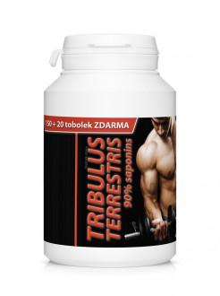 PŘÍRODNÍ DOPLŇKY NA: - TRIBULUS TERRESTRIS 150 + 20 tbl ZDARMA 90% saponinů