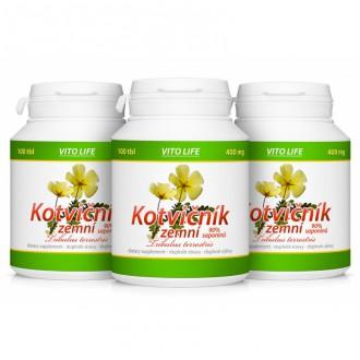 AKČNÍ BALÍČKY 2+1 - 2+1 Kotvičník zemní 90% saponinů 300 tbl