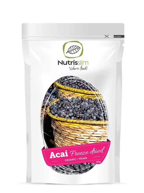 Acai Berry Powder 60g Bio - Novinky