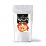 Allnature Broskev sušená mrazem plátky 15 g