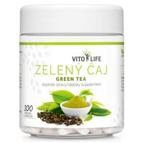VITO LIFE - Zelený čaj 100 cps