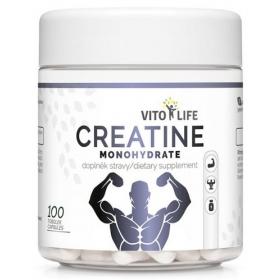 VITO LIFE - Creatine monohydrate 100 cps.