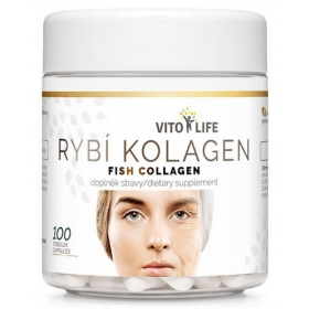 VITO LIFE - Rybí kolagen 100 cps